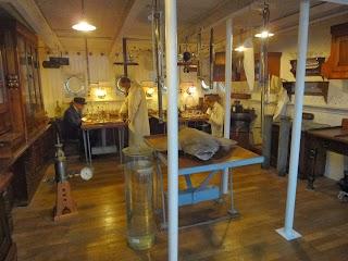 Laboratoire de l'Hirondelle II au Musée Océanographique de Monaco