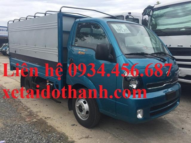 Giá lăn bánh xe Kia K250 thùng bạt