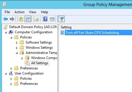 Exit | the | Fast | Lane |: Resource Sharing in Windows