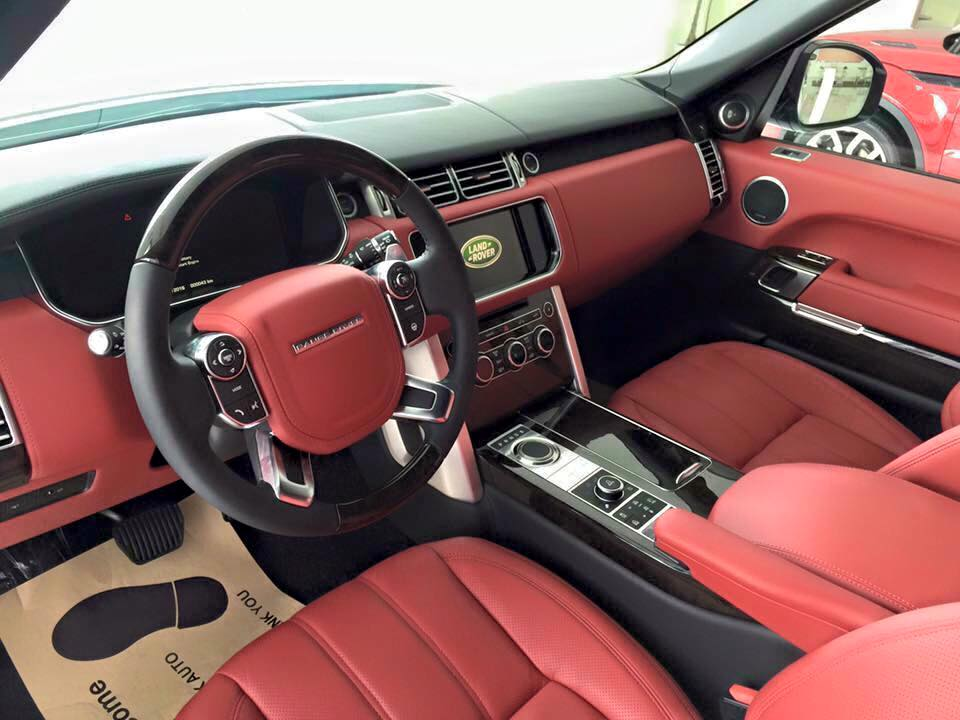 Xe Land Rover Range Rover Autobiography LWB Full Oftion màu trắng 09