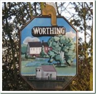 worthing sign