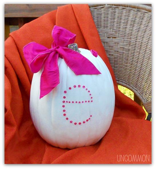 baby shower pumpkin