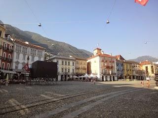 Piazza Grande à Locarno
