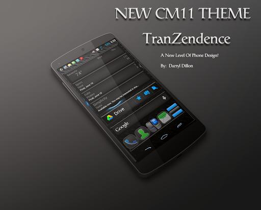 TRANZENDENCE CM11 THEME