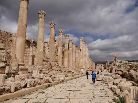 Obiective turistice - Iordania: Orasul roman Jerash