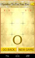 Screenshot of Ojambo TicTacToe Pro