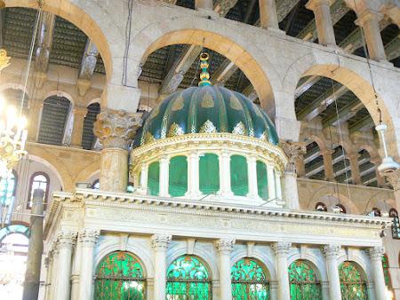 Locul unde se afla capul Sfantului Ioan Botezatorul in Siria