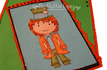 Mad hatter card Platypus Creek Digitals -2