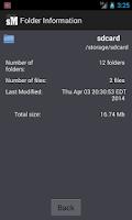 Screenshot of Sleek File Manager