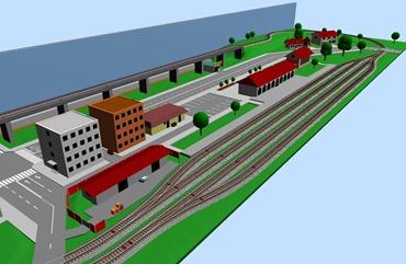 SCARM – Free 3D Railway Designer