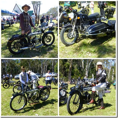 Bikes at Yetholme - November 2014
