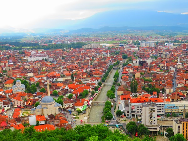 Prizren, view from the fortress