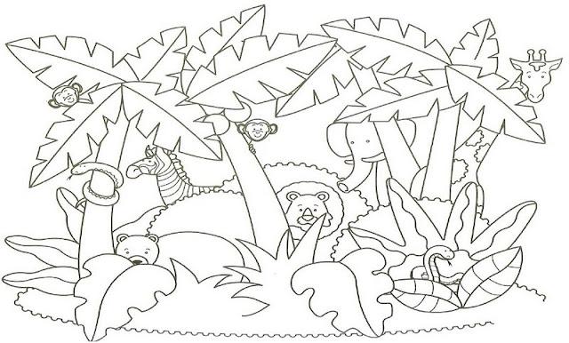 Desenho Paisagem Para Pintar Colorir E Aprender
