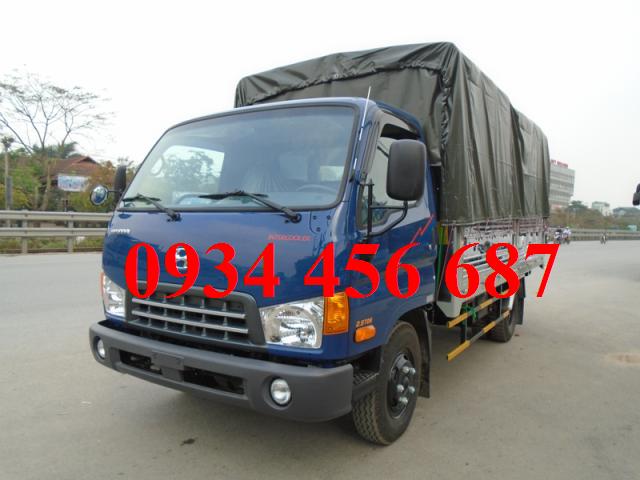 Hyundai HD88 thùng bạt 5,5 tấn