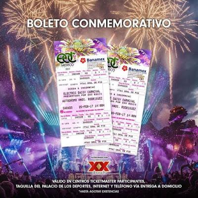 ¡Atención fans de Electric Daisy Carnival EDC Mexico