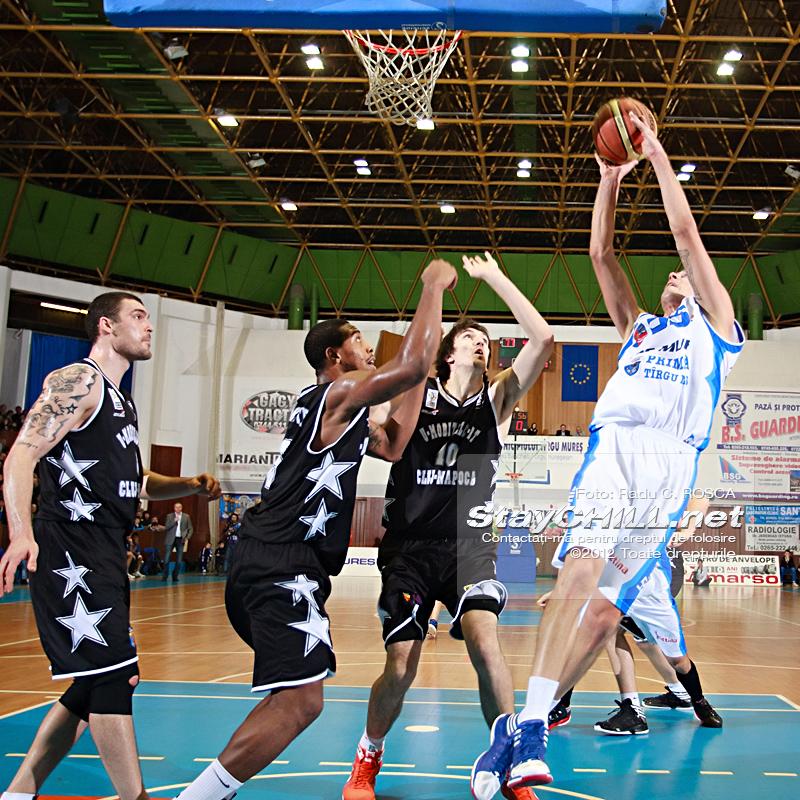 Branko Cuic / BC Mures - U Mobitelco, 30 noiembrie 2012