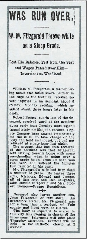 Woodland Daily Democrat, 23 Aug 1905, Page 1