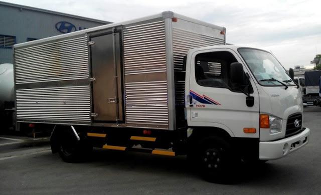 Hyundai 4,5 tấn Thùng kín