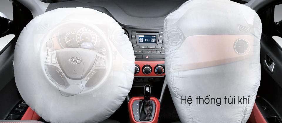 Nội thất xe Hyundai Grand i10 Hatchback 5 Cửa Màu Đỏ 012
