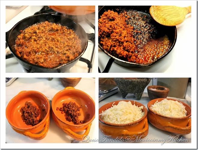 Queso Fundido con Chorizo | receta familiar fácil y deliciosa