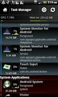 Screenshot of System Monitor Lite 4 Android