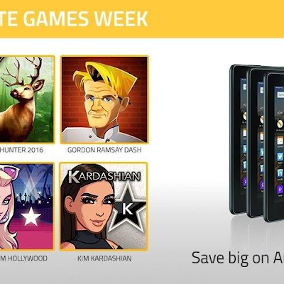 Dont miss your chance to win Amazon giftcards and Kindle Fire tablets