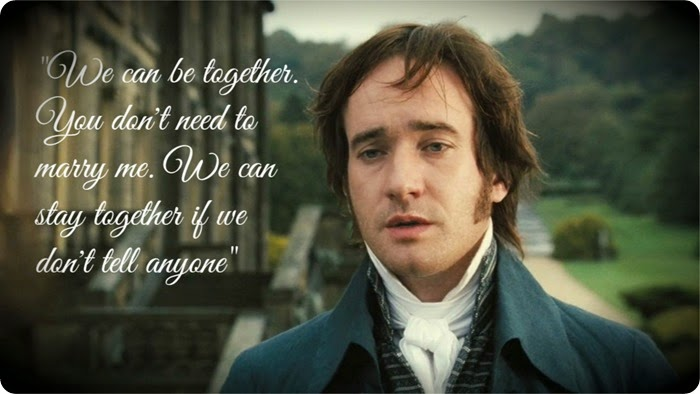 mr darcy frame