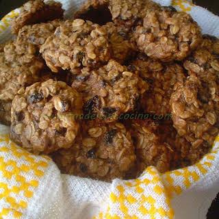 Whole Wheat Raisin Cookies.