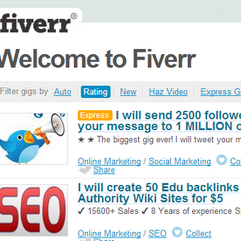 Advertising and Promoting Art With Fiverr