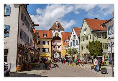 Meersburg: Sightseeing & Geocaching - Stadttor