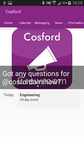 Cosford Crewroom
