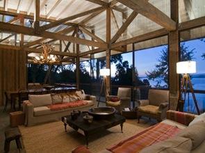 diseño interior-casa-de-madera-lago-ranco