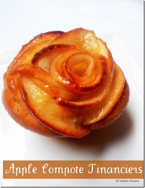 Apple Compote Financiers Recipe