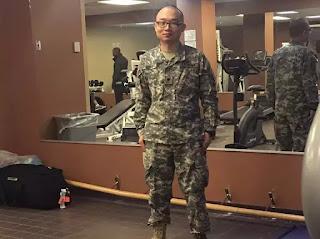 Sinh viên Hoa Lục Panshu Zhao ở đại học Texas A&M bị loại khỏi US Army trong cuộc điều tra lý lịch.