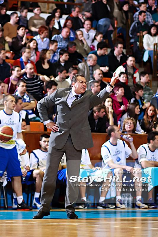 Dado Arnautovic / BC Mureș - CSU Asesoft, 24 martie 2012