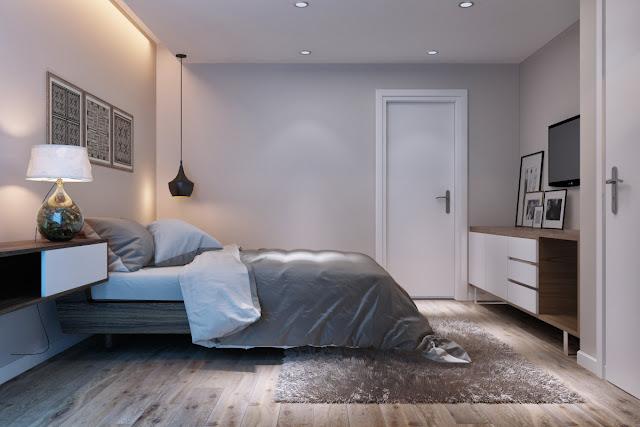 phòng ngủ master chung cư hanoi landmark 51