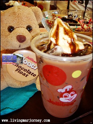 Jollibee Chocolate Float