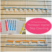 Montessori Inspired Skip Counting