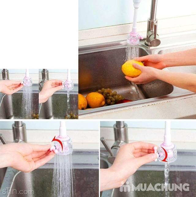 [DỤNG CỤ TIẾT KIỆM NƯỚC] Dụng cụ nối vòi nước thiết kế