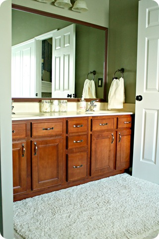 maple bathroom cabinets