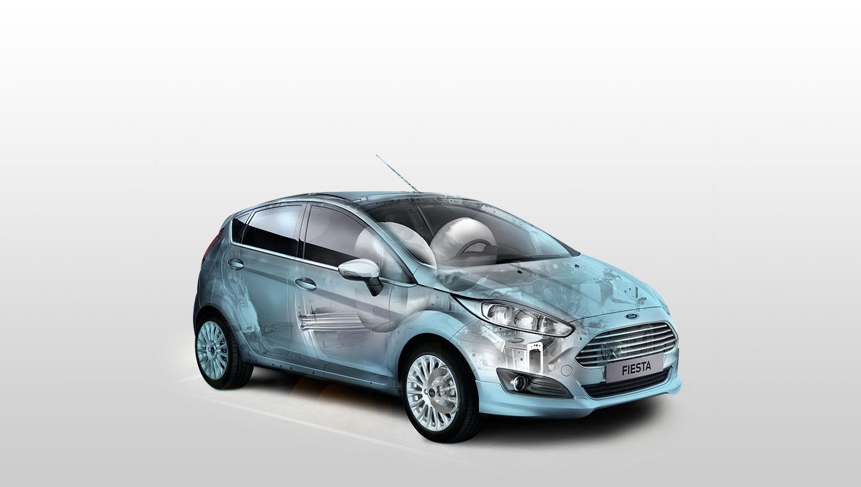 Nội thất xe ô tô Ford Fiesta 06