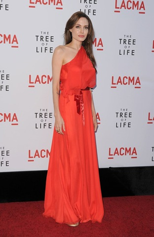 Angelina Jolie The Tree of Life Premiere