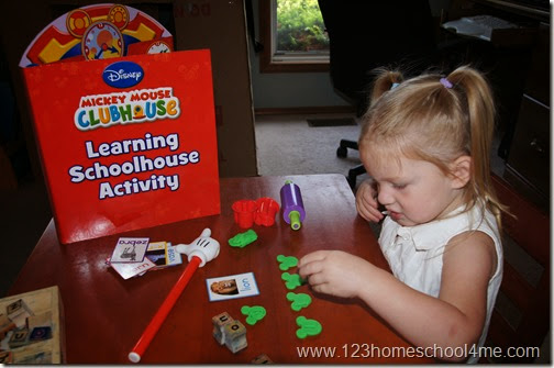 Hands on Learning with Disney Junior Mickey Mouse #Ready4Preschool  #shop