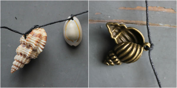 DIY Shell Necklace