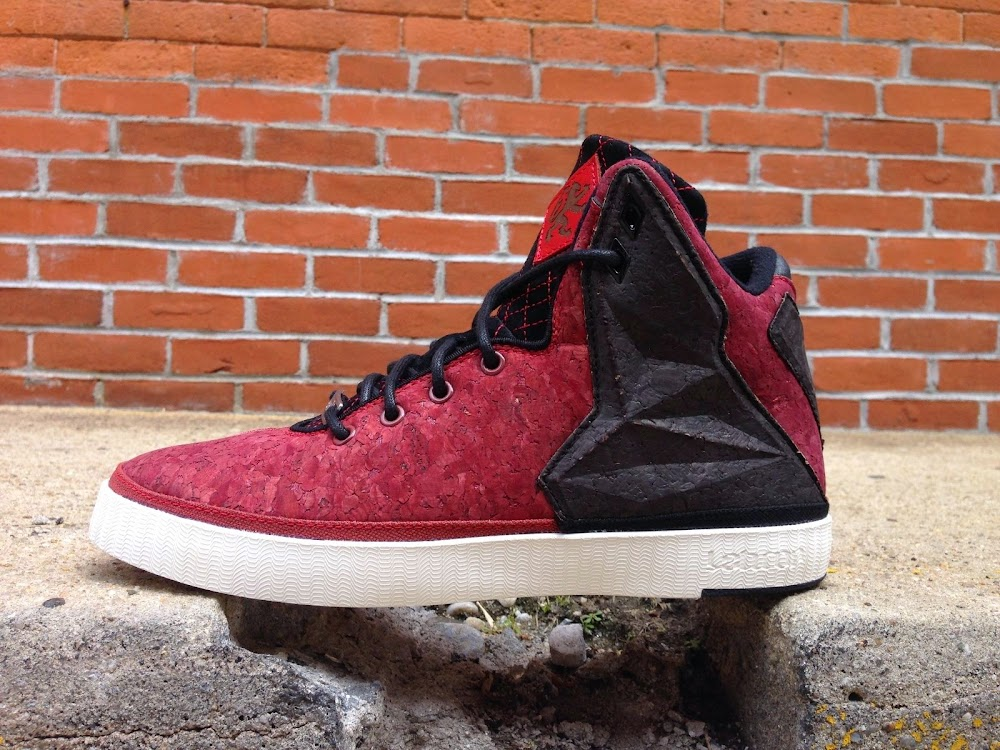 size 40 2c557 5ed91 Closer Look at Nike LeBron XI NSW Lifestyle 8220Red Cork8221 ...