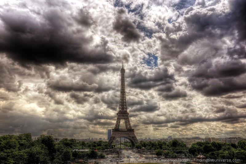 Paris Eiffel Tower HDR 2a