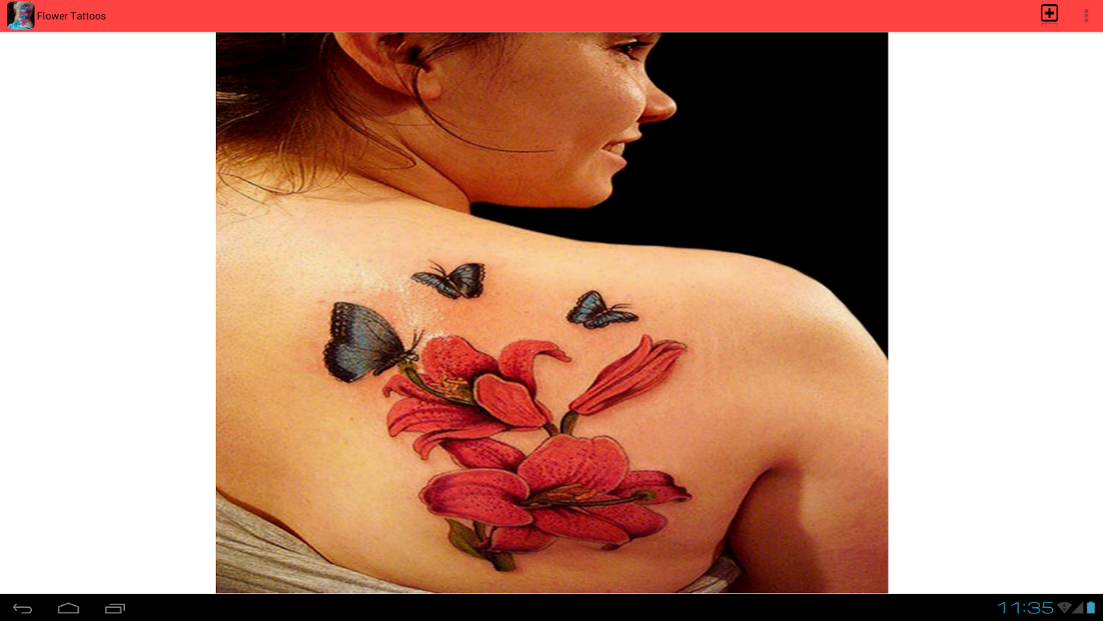 Flower tattoos android apps on google play for App for tattoos