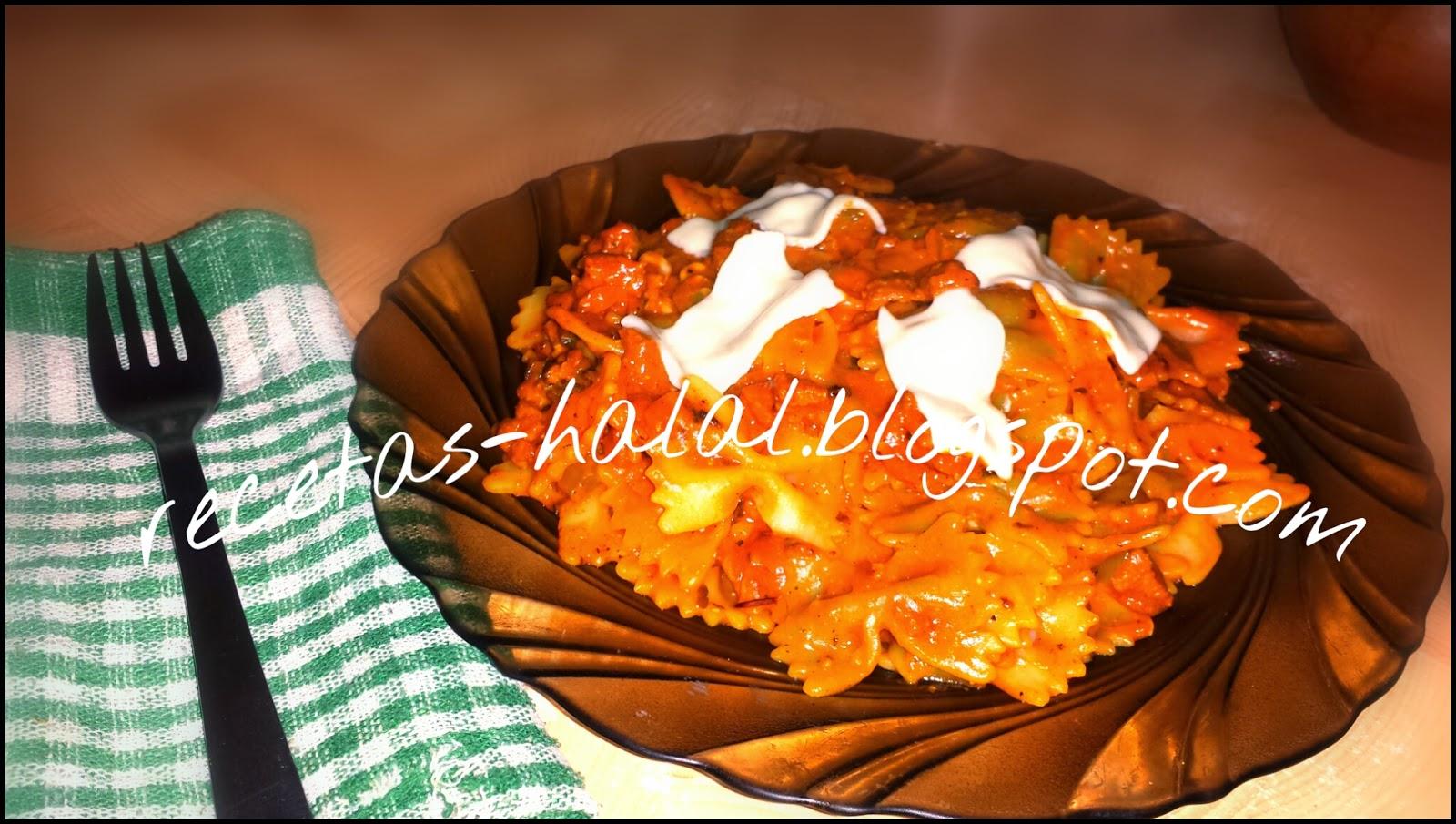 Mi rinconcillo de cocina halal