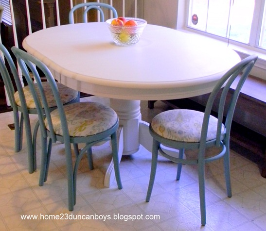 painted kitchen table7