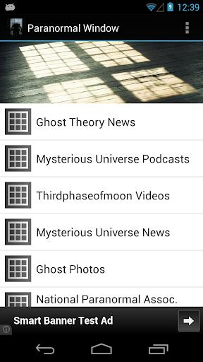 Paranormal Window